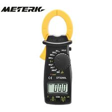 Digital Clamp Meter Multimeter Voltage Curent Tongs Resistance Tester Electronic