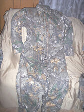 Mens Large Hunting Coveralls Realtree Xtra Camo Coveralls Insulated Coveralls Lg