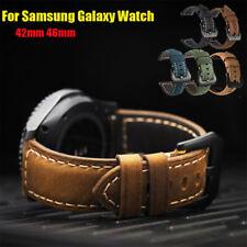 20 мм 22 мм натуральная кожа ремешок на запястье для Samsung Galaxy часы активный 2/46mm лента