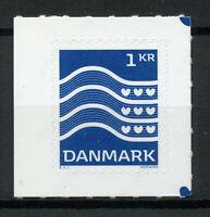 Denmark 2019 MNH Wavy Line Definitives 1v S/A Set Stamps