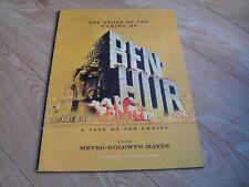 METRO-GOLDWYN-MAYER - The Story of the Making of BEN HUR Charlton Heston pb 1959
