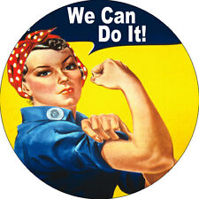 CHAPA/BADGE WE CAN DO IT! . pin button j howard miller rosie the riveter