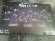 WARHAMMER 40K SPACE MARINES PRIMARIS REIVERS - NEW AND SEALED