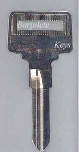 Replacement Key Blank Fits Volvo 240 740 760 780