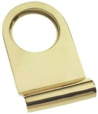 Solid Polished Brass Victorian Yale Lock Surround / Door Pull (PB106)