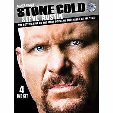 Official WWE - Steve Austin Most Popular Superstar..  DVD (4 Discs) (Pre-Owned)