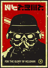 Killzone 3 - For The Glory Xbox Wii PS3 PC 1 Piece Glossy Poster Art Print!!