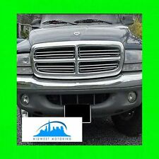 1997-2004 DODGE DAKOTA CHROME GRILLE TRIM 97 98 99 00 01 02 03 04