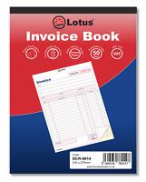 Duplicate Invoice Book Preprinted 50 Sets Serially Numbered VAT Details DCR8014