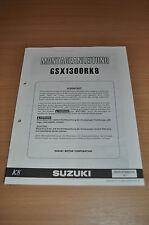 Montageanleitung Suzuki GSX 1300 R K8 Hayabusa Sporttourer Stand 2007