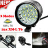 80000LM 16x T6 LED 3 Modes Bicycle Lamp Bike Light Headlight Cycling Torch USA