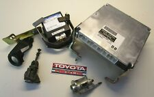 Toyota Corolla 5 Door 2002 E120 - ECU Set With Locks & Key 89661-02B80