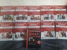 10 Manhattan GMAT Prep Bücher (6th edition) + Official GMAT Guide (2018)