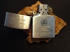 Old Vtg 1965 Zippo Cigarette Lighter The C&P Telephone Company of MD Bell