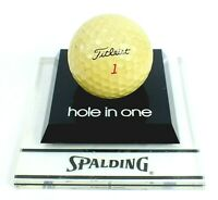 Vintage SPALDING QUESTOR Hole in One TITLEIST Ball GOLF BALL TROPHY