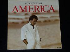 45 tours SP - JULIO IGLESIAS - AMERICA - 1986