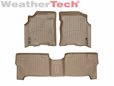 WeatherTech FloorLiner Mats for Toyota Tundra -Double Cab - 2004-2006 - Tan