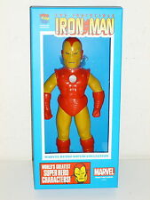 "IRON MAN - Marvel Comics Retro Sofubi Collection - 10"" SOFT VINYL -Medicom JAPAN"