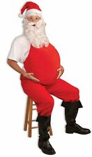 Adult Red Santa Belly Stuffer Costume Accessory One Size