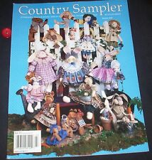 Country Sampler March 1995  Preview Issue Magazine Decorating Accessories