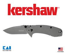 "Kershaw Knives 1556Ti CRYO II Folding Knife 3.25"" 8Cr13MoV Titanium Blade"