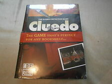 RARE CLUEDO - FACTORY SEALED - CLASSIC BOOKSHELF VERSION WITH FULL SIZE BOARD
