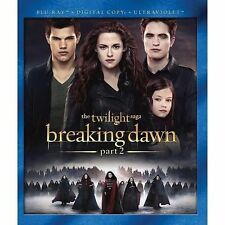 The Twilight Saga Breaking Dawn - Part 2 Blu-ray Digital Copy UltraViolet