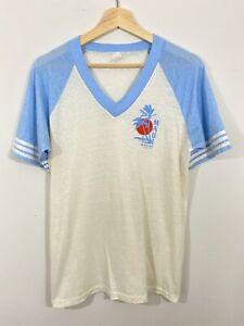 Vtg 70s 80s Maui Hawaii Souvenir Tourist 5050 Tshirt Soft Thin Single Stitch USA