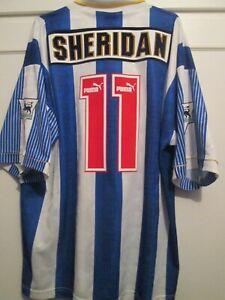 Sheffield Wednesday 1994-1995 Sheridan 11 Home Football Shirt Size xl /48486