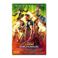Thor Ragnarok Movie Poster New 2017 Art Silk Canvas Poster Print 13x20 24x36''