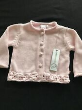 Jean Bourget (France) NWT Pink Cotton Knit Sweater - 18 Months