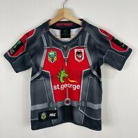 St George NRL Jersey Youth Size 10 Ant Man Edition Short Sleeve Round Neck ZAK