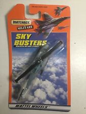 Matchbox Skybusters Military Helicopter New In Pack