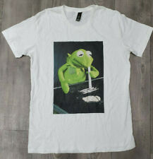 Kermit The Frog Cocaine T-Shirt L Large