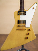 Used Gibson Custom Shop Limited Run 1958 Explorer TV Yellow  Electric Guitar