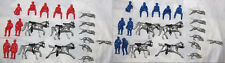 Marx reissue fox hunt set, medium size with BLUE FIGURES, red sold out