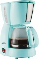Kitchen Brentwood Ts-213Bl 4 Cup Coffee Maker Blue Dining Small Appliances New