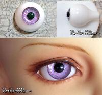 SEL10 Dollmore Optical Half Round Acrylic Eyes MSD 1//4 BJD 14mm