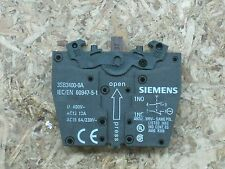 NEW out of package Siemens 3SB3 400-OA 3SB34000A 2 pole contact block