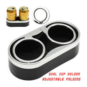 Car Seat Drink Cup Holder Can Bottle Food Mount Stand 2-in-1 Storage Shelf
