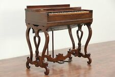 Victorian Antique Rosewood Melodeon Organ, Pat. 1846, Signed Prince #29374