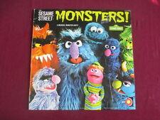 Sesame Street Monsters! Lp - A Musical Monster-osity