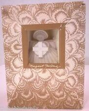 "Margaret Furlong 4"" Cross Sea Shell Angel 1993 Christmas Ornament, Box"