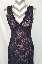 NWT David's Bridal size 4 lace tie back mother of bride dress bridesmaid formal