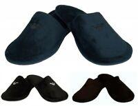 Ciabatte pantofole da casa uomo in velluto homewear EMPORIO ARMANI articolo XJPM