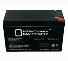 12 Volt Battery for Kids Ride On Car Power Wheels 12V 7 Amp Hr SLA Rechargeable