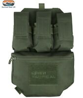Kombat Green Guardian Assault Panel Webbing Airsoft Vest Molle System Pouch