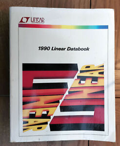 LT Linear Data Book 1990 Linear Technology
