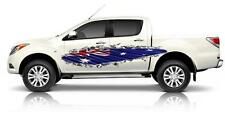 2 x Rip Metal with Australian Flag Decals Sticker Boat or Caravan, Car, truck