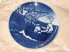 1990 THE LITTLE VIKING Bing & Grondahl 1st Ed. Young Adventurers Collector Plate
